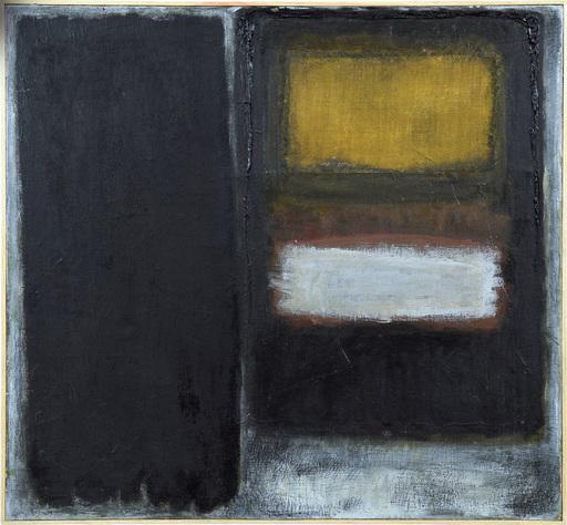 Jerzy GROCHOCKI - Gemälde - Conjunction - Black 3