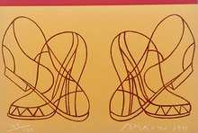 Eduardo ARROYO - Print-Multiple - Shoes