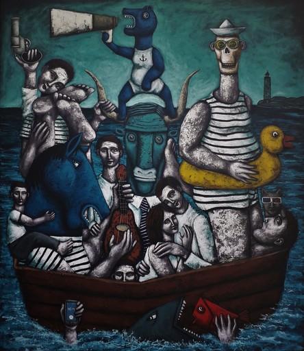 Nicolas MONJO - Pintura - Balnéothérapie