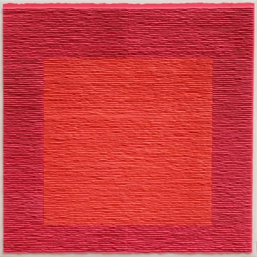Fernando DAZA - Drawing-Watercolor - Cuadro Rojo sobre Rojo 1