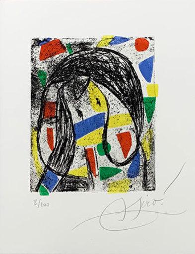 Joan MIRO - Print-Multiple - La révolte des caractères