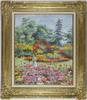 Hugues Claude PISSARRO - Painting - Lélia au Jardin