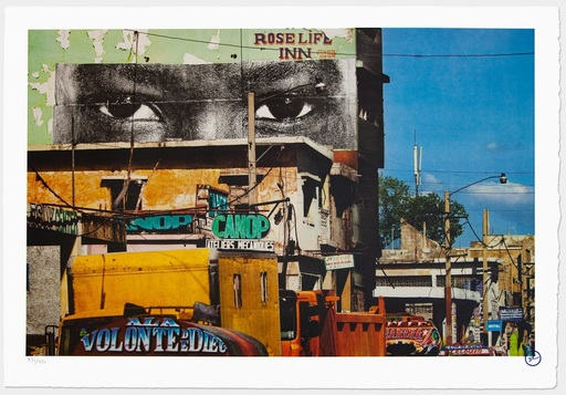 JR - Stampa-Multiplo - Inside Out, Haiti, 2012