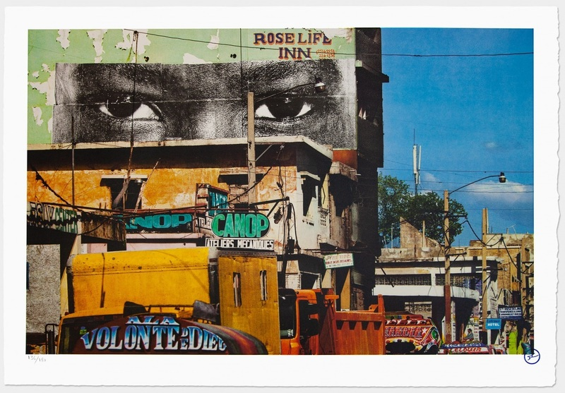 JR - Estampe-Multiple - Inside Out, Haiti, 2012