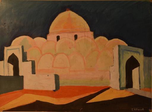 Boris KRIUKOV - Peinture - Muslim
