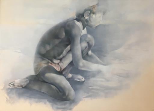 Renzo VESPIGNANI - Dessin-Aquarelle - In spiaggia