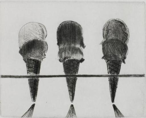 Morton Wayne THIEBAUD - Print-Multiple - Double Deckers