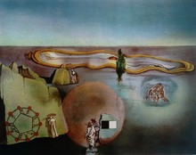 Salvador DALI - Estampe-Multiple - 4eme dimension