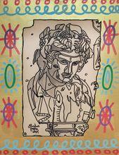 Robert COMBAS - Peinture - Bacchus