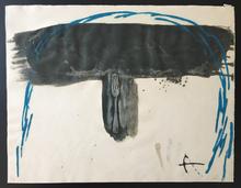 Antoni TAPIES (1923-2012) - Arc blau