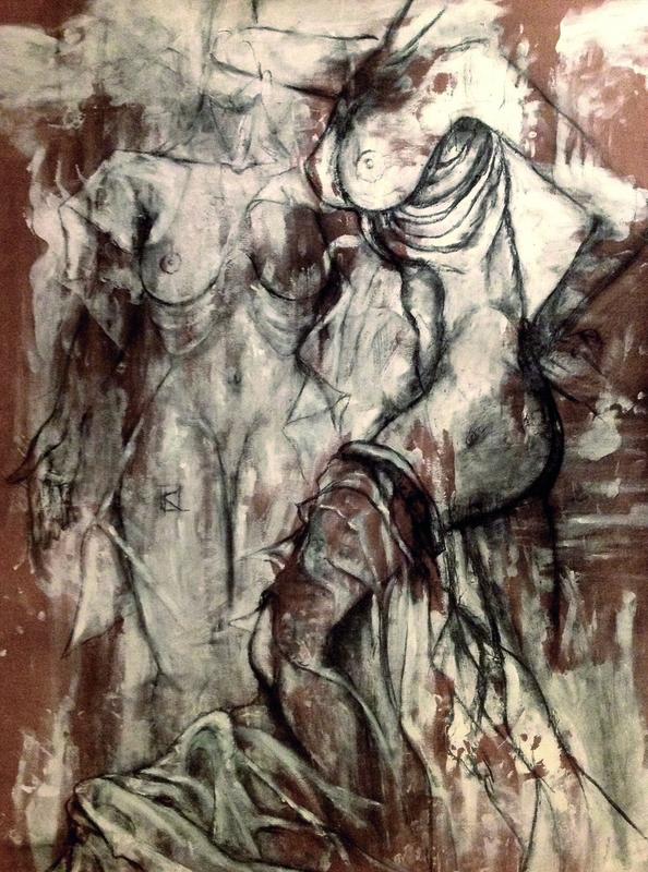 Guillaume KALT - Dibujo Acuarela - Emergence    (Cat N° 6164)