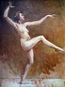 Giovanni ZANGRANDO - 绘画 - Danzatrice