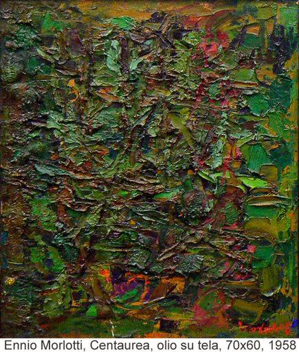Ennio MORLOTTI - Gemälde - Centaurea