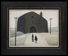 Laurence Stephen LOWRY - Peinture - A House