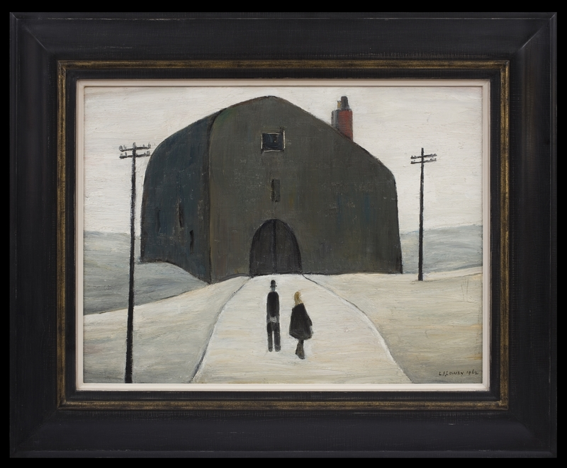 Laurence Stephen LOWRY - Painting - A House