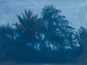 Alex KATZ - Peinture - Late Afternoon Blue
