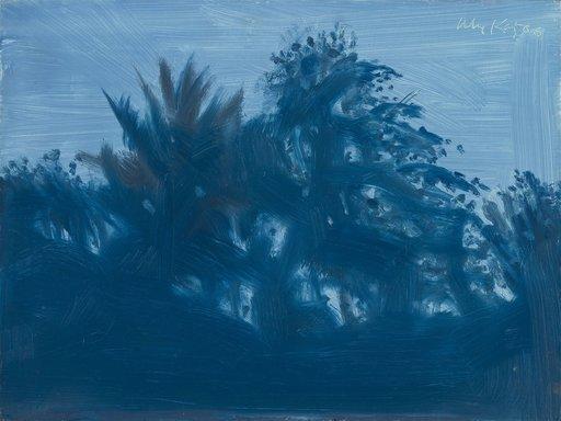 Alex KATZ - Pintura - Late Afternoon Blue