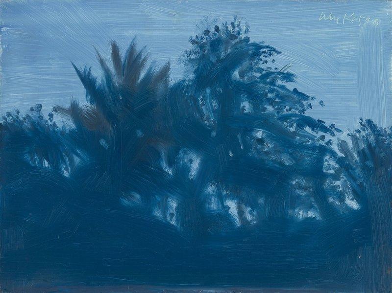Alex KATZ - Painting - Late Afternoon Blue
