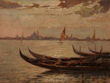 Beppe CIARDI - Pintura - Laguna Veneta