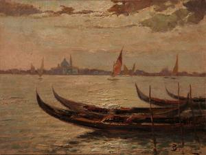 Beppe CIARDI - Painting - Laguna Veneta