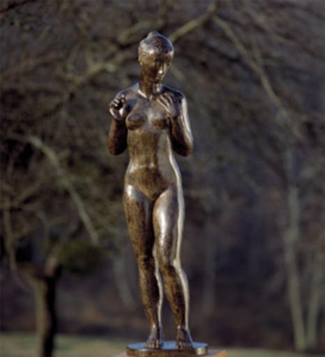 Jacques COQUILLAY - Skulptur Volumen - Claudine