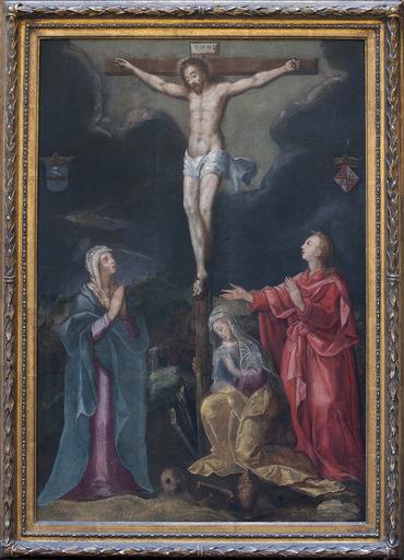 Gillis I COIGNET - Pittura - Crocifissione