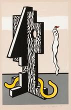 Roy LICHTENSTEIN - Print-Multiple - Figures, from 'Surrealist Series'