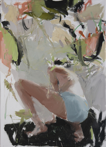 Vladimir SEMENSKIY - Painting - Morning Gardering