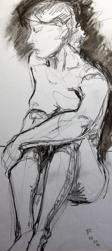 R.CAVALIÉ - Drawing-Watercolor - N.R. 144