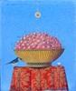 Claudio CARGIOLLI - Pintura - Un uovo per la pispola