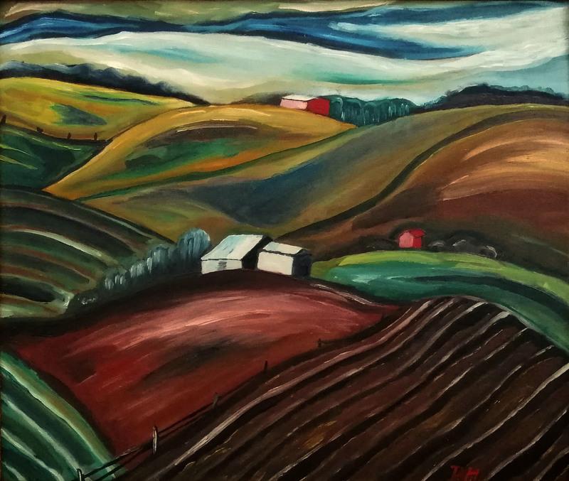 Prudence HEWARD - Pintura