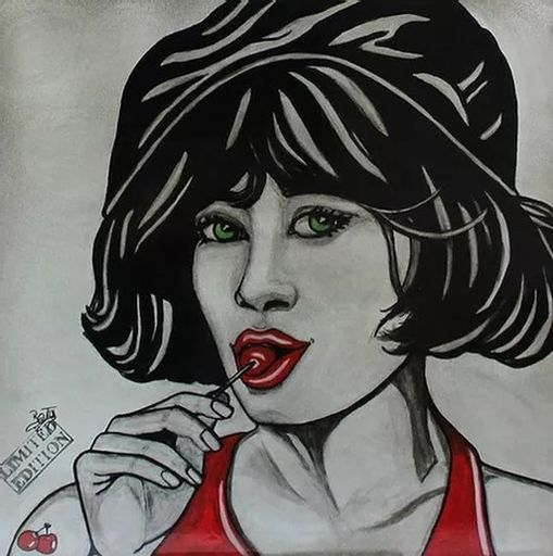 BATLI - Painting - Anita