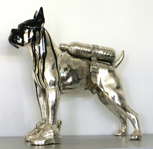 William SWEETLOVE - Sculpture-Volume - Cloned French Bulldog