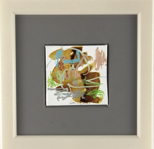 Nicole LEIDENFROST - Gemälde - Landschaft mit Sand