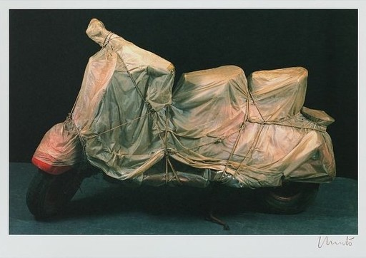 CHRISTO - Estampe-Multiple - Wrapped Vespa