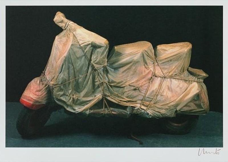 CHRISTO - Estampe-Multiple - Wrapped Vespa