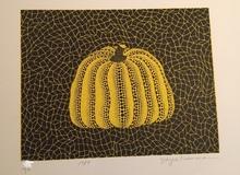 草間彌生 - 版画 - pumpkin