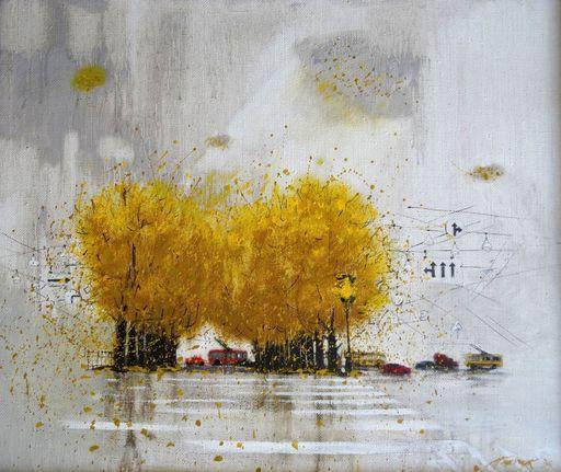 Tatjana PALCUKA - Painting - Boulevard