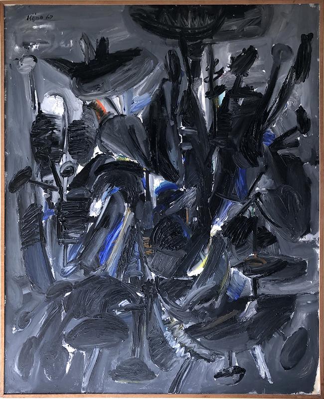 Ladislas KIJNO - Pittura - Isotonie