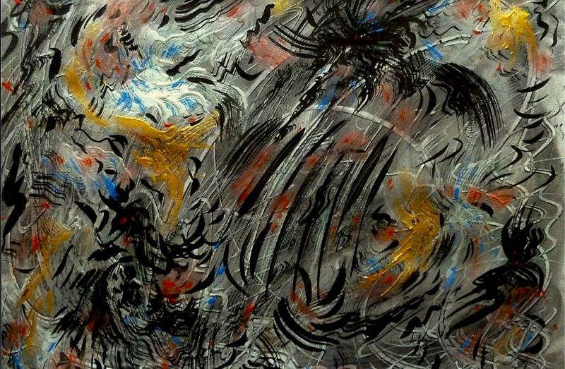 Didier ANGELS - Pintura - L'Attaque