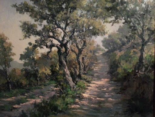 Edmond Amédée MELOT - Pintura - Paysage des Baronnies provençales