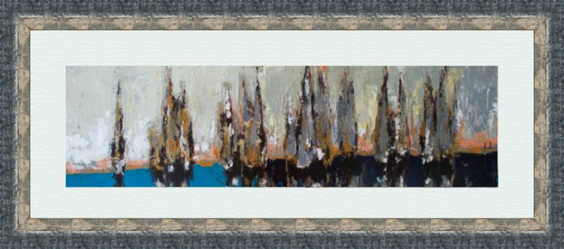 Ramaz ROSTOMASHVILI - Gemälde - Regatta # 1