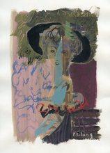 Pierre Emile Gabriel LELONG - Dibujo Acuarela - DESSIN À LA GOUACHE 1954 SIGNÉ HANDSIGNED GOUACHE DRAWING