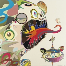 Takashi MURAKAMI - Estampe-Multiple - hommage to bacon (study of george dyer)