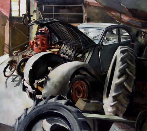 Christoff DEBUSSCHERE - Pintura - La 2 CV
