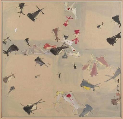 CHEN Wenxi - Pittura - Fishs