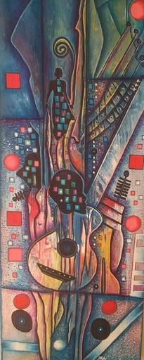 ROGA - Painting - Popular Haitian music