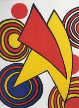 Alexander CALDER - Estampe-Multiple - Cercles et triangles