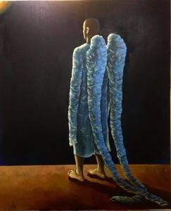 Damir MURATOV - Pittura - Angel