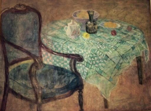 REMZI - Pintura - La Nappe verte